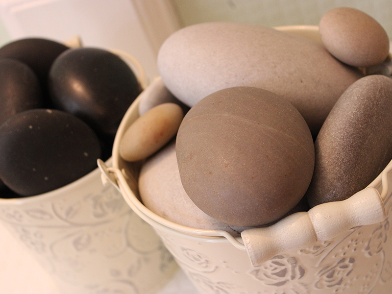 Hot stone massage from Sage Therapies