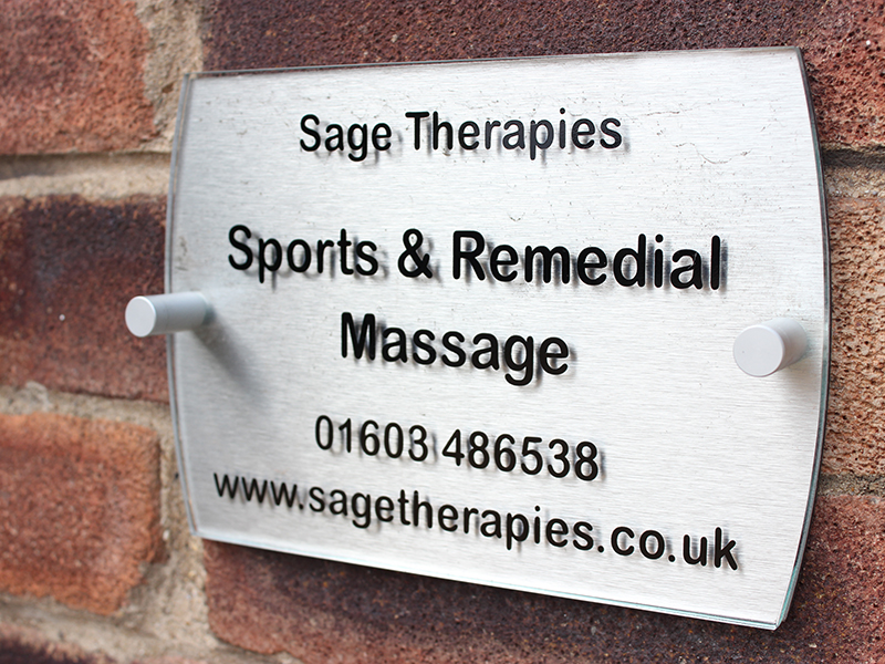 Treatment room from Sage Therapies